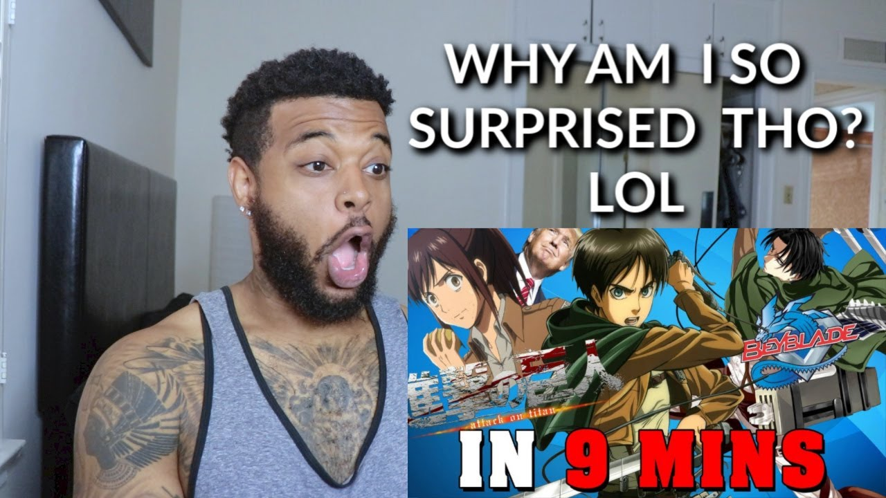 Attack on Titan IN 9 MINUTES | Reaction - YouTube