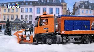 Mercedes-Benz Arocs Winterdienst -- 03685 -- BRUDER Spielwaren