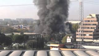 Incendio Roma via Collatina 8/11/2014