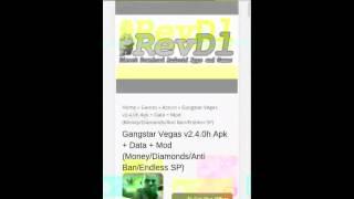 How To Install Gangstar Vegas المتهكرة