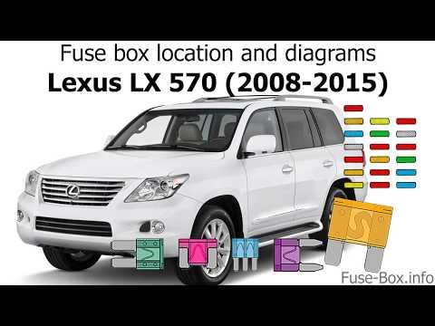 [DIAGRAM_1JK]  Fuse box location and diagrams: Lexus LX570 (2008-2015) - YouTube | Lexus Lx 570 Fuse Box |  | YouTube