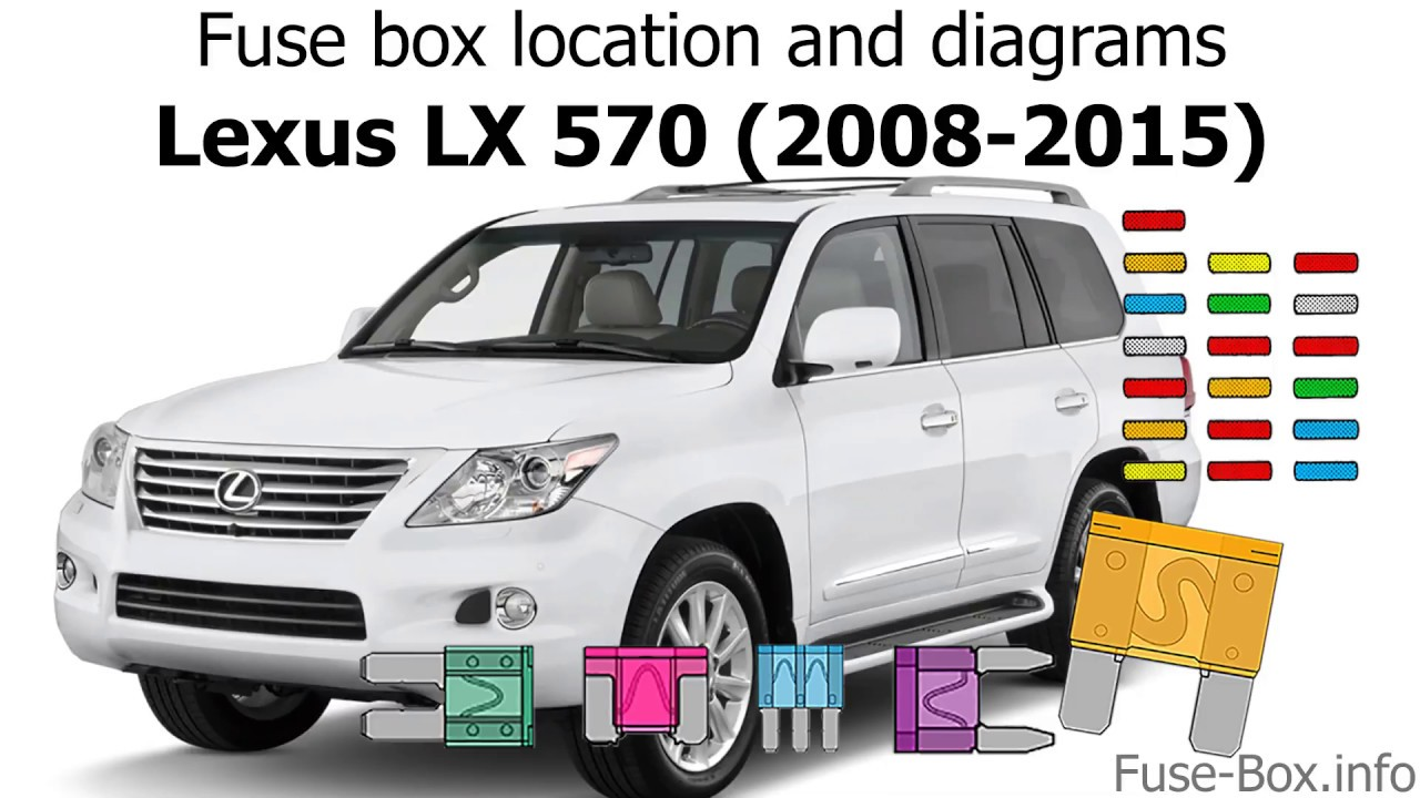 fuse box location and diagrams: lexus lx570 (2008-2015)