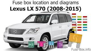 [DIAGRAM_38YU]  Fuse box location and diagrams: Lexus LX570 (2008-2015) - YouTube | Lexus Lx 570 Fuse Box |  | YouTube
