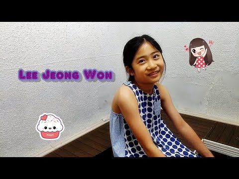 I Can Academy Interview :: Lee Jeong Won :: Week 1