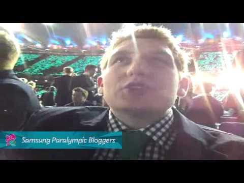 Ben Newton - Opening Ceremony, Paralympics 2012