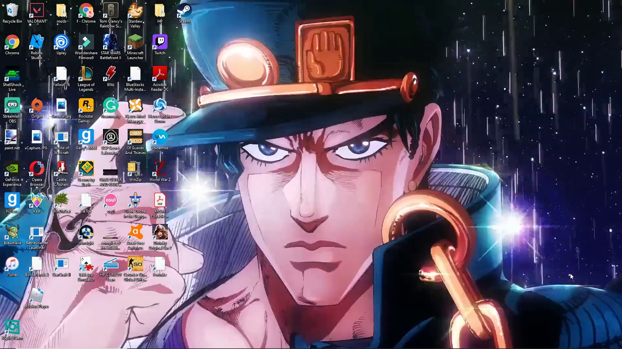 Wallpaper Engine Looking Up And Adding Wallpapers Including Anime Jojo S Bizarre Adventure Youtube
