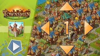 Completely filled Townsmen map!