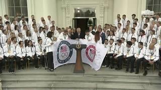 Trump Hosts Olympics Team USA At White House