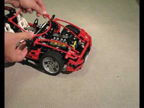 Building A Lego Technic 8448 Super Car Part Ii Youtube