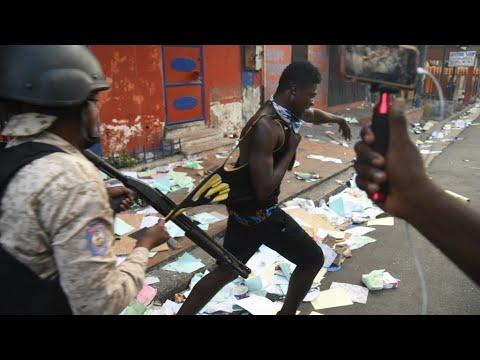 Several dead, dozens escape prison amid Haiti protests