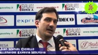 17-04-2013: Intervista a Manuel Cichello dopo l'approdo di Molfetta in finale play off