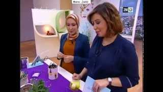 Repeat youtube video Fatima Zahra ATLAS - Idée déco - Sabahiyat 2M 18/03/13