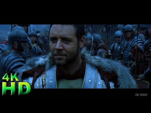Гладиатор (2000) ► Начало. Подготовка к бою. Речь Максимуса ► HD 4K