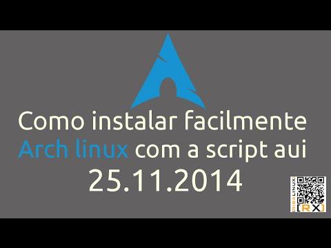 Como instalar facilmente Arch linux com a script aui 25.11.2014