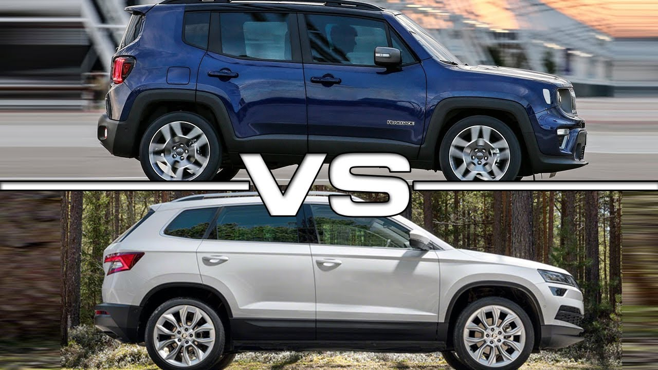 מעולה  2019 Jeep Renegade vs 2018 Skoda Karoq Technical Specifications XX-01