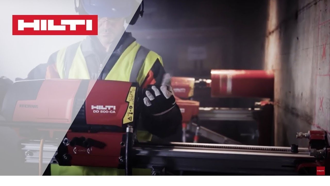 INTRODUCING the Hilti DD 350-CA and DD 500-CA with Cut Assist