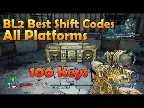 Borderlands 2 Shift Codes for ALL Platforms 100 Golden Keys Still Working