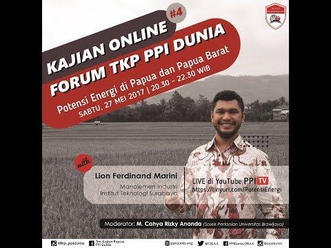 [LIVE] Potensi Energi di Papua dan Papua Barat