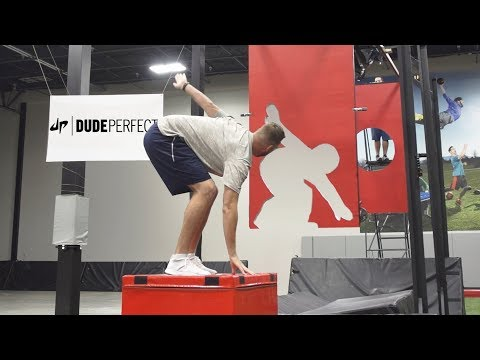 Thumbnail: Freeze Frame Football Battle | Dude Perfect