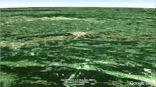 El Camino Español en Google Earth