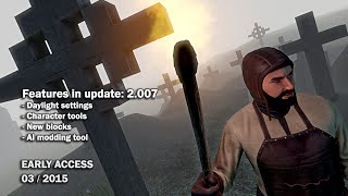 Medieval Engineers - Update 02.007: Daylight settings, Character tools, AI modding tool(, 2015-03-10T15:31:41.000Z)
