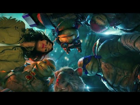 Download Casey Meets The Turtles Scene - Teenage Mutant Ninja Turtles: Out of the Shadows (2016) Movie HD