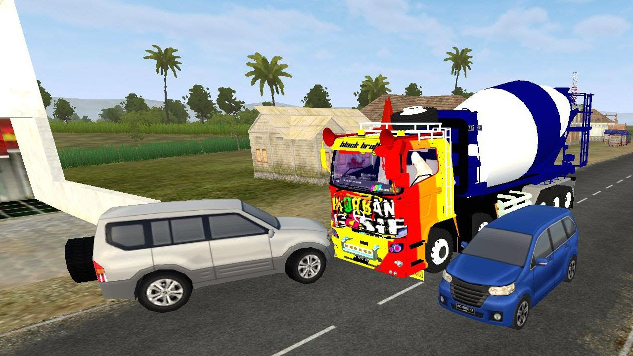 820 Koleksi Mod Bussid Mobil Molen Terbaik