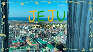 [VLOG in Jeju] 롯데시티호텔 제주 LOTTE…