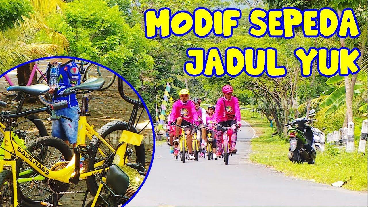 Modif Sepeda Yuk Sepeda Mini Track Khas Trenggalek Tau Gak Sih 10 01 20 Youtube