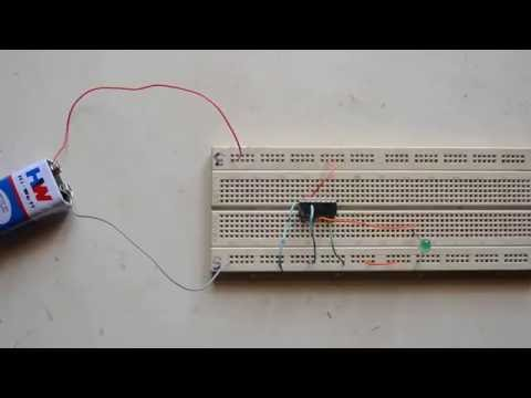 AND gate simple experiment using 7408 IC | LOGIC GATES | EEE circuits