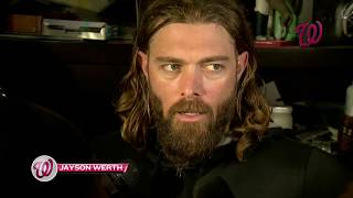 Jayson Werth reflects on the season after Nats' 9-8 loss in Game 5 of NLDS
