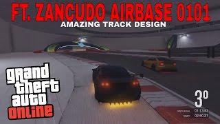 GTA V RACING PS4-FT. ZANCUDO AIRBASE 0101(AMAZING TRACK DESIGN)