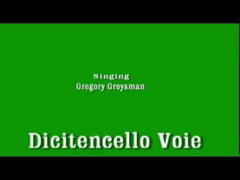 Dicitencello vuje - Singing Gregory Groysman