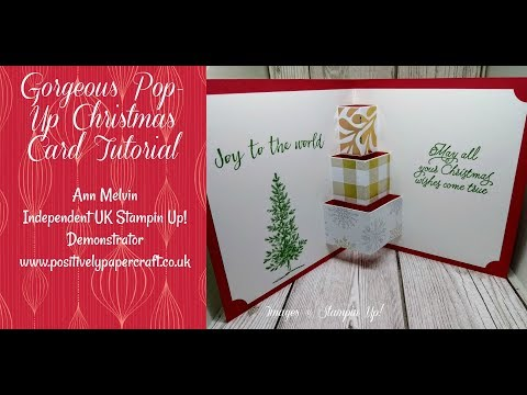 Gorgeous Pop-Up Christmas Present Card!