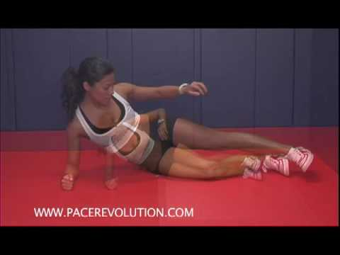 PACE Fitness Exercise - The Plank - Plus FREE PACE e-Book