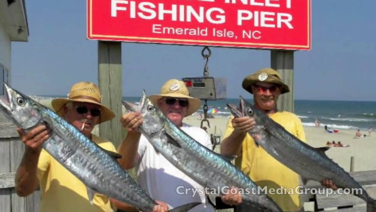 Bogue inlet fishing pier saltwater fishing in emerald for Fishing in nc