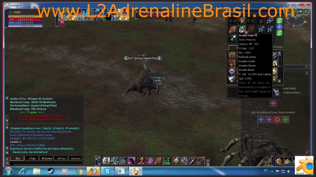 L2 Adrenaline BOT - Script Auto Farm + Auto Captcha