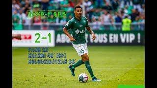 AS Saint-Etienne - SM Caen 2-1 Le résumé