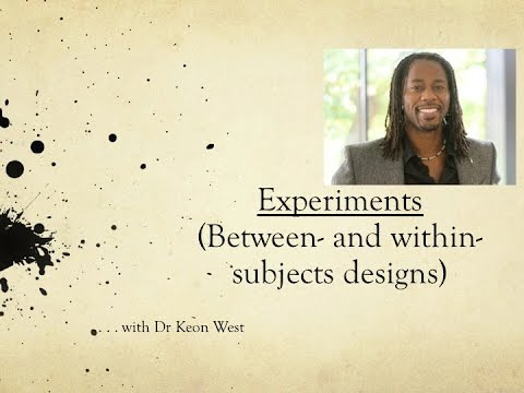 between subject designs 2016-11-12 one widely recommended approach to increase power is using a within subject design indeed, you need fewer participants to detect a mean difference between two conditions in a within-subjects design (in a dependent t-test.