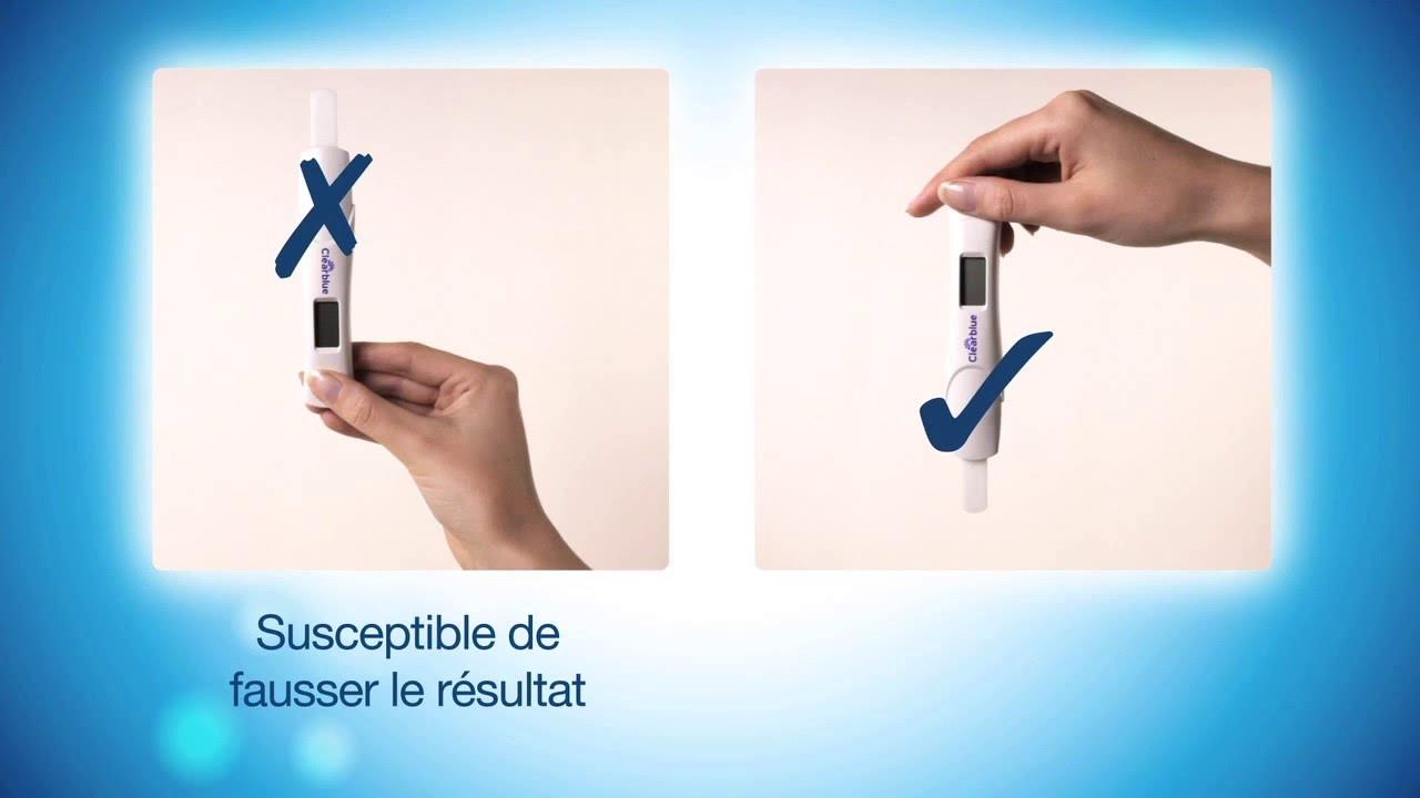 D terminez l 39 ge de votre grossesse avec le test de - Prix test de grossesse clearblue digital ...