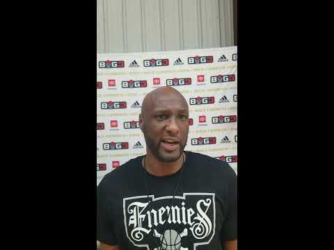 Lamar Odom, Part I: Talks BIG3, Career Resurrection