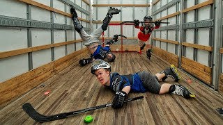 Playing Hockey In A Moving Truck   Ross Smith