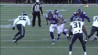 Vikings lose to Seahawks missed Field Goal Attempt Wild Card Playoffs 2016