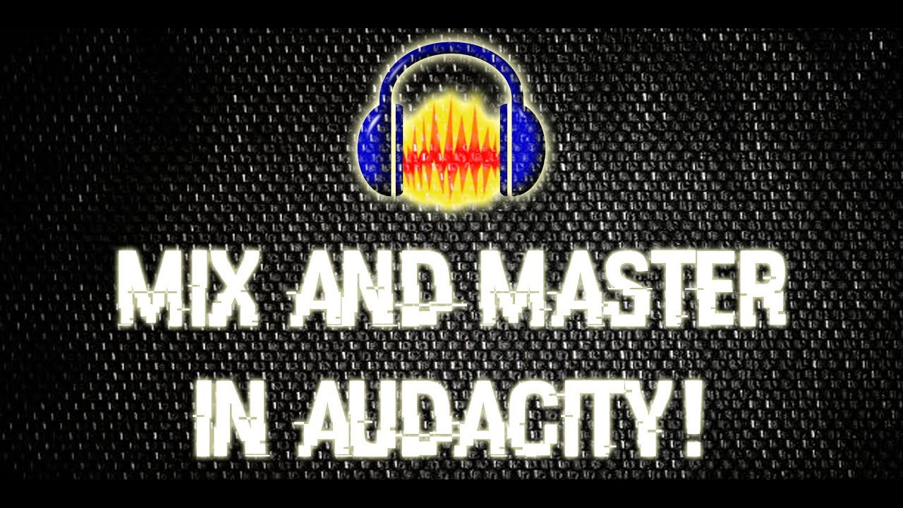 How to mix and master rap vocals in audacity so you can sound professional!  (Update in description)
