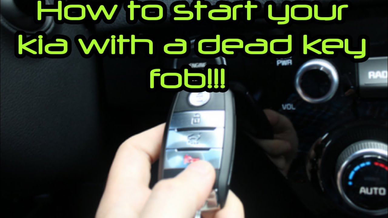 How To Start Your Car With A Dead Key Fob Youtube Kia Cerato Fuse Box