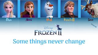 Gambar cover Frozen II - Some Things Never Change (Color Coded) // Generik