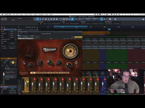 Waves - Tony Maserati Plugins - Drums - HomeRecordingMadeEasy.com