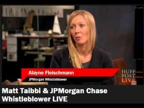 Matt Taibbi & JPMorgan Chase Whistleblower Alayne Fleischmann LIVE