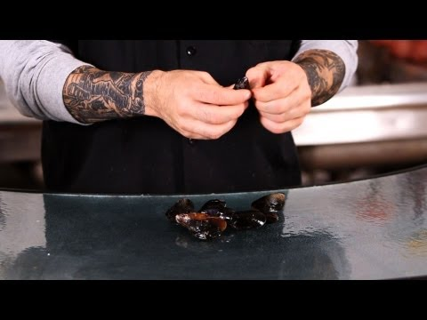 How to Clean Mussels | Fish Filleting