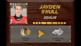 Jayden Shull - BC U18AAA to BCHL | Stand Out Sports Client Hall of Fame